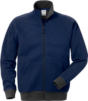 Felpa Full Zip 1756 Df